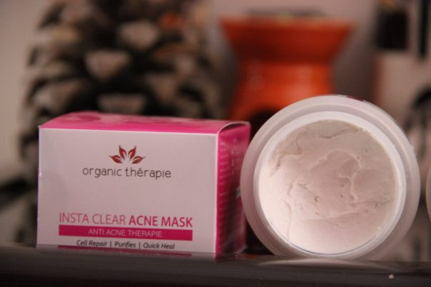 Organic Therapie Insta Clear Acne Mask | mitzitup.com
