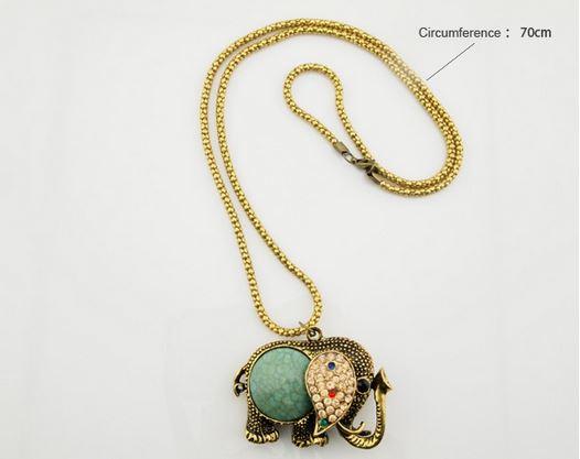 Elephant Pendant Chain | mitzitup.com