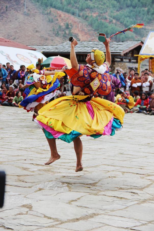 Paro Tsechu Sacred Dance, Bhutan | mitzitup.com