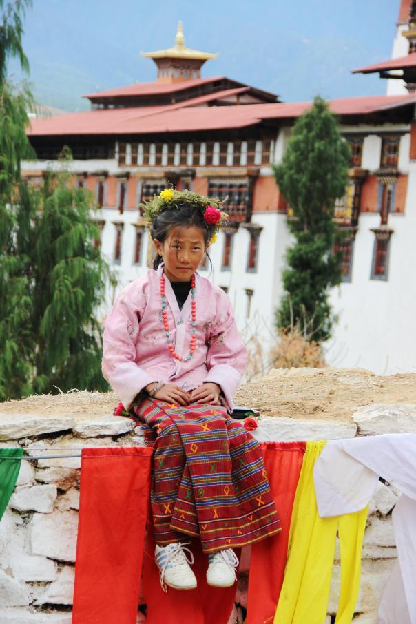 Bhutanese girl | mitzitup.com