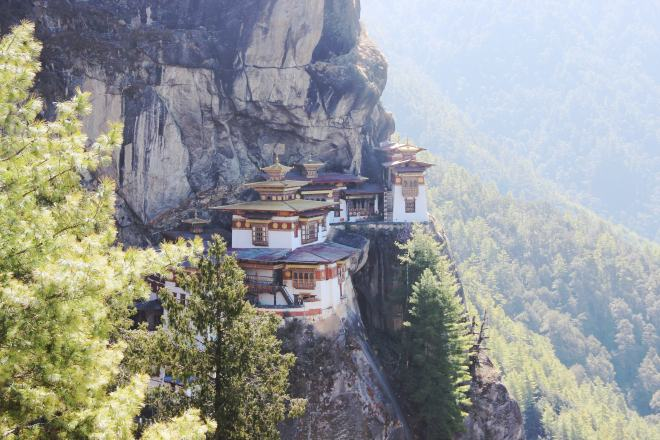 Almost near the end of Tigers Nest Trek, Bhutan | mitzitup.com