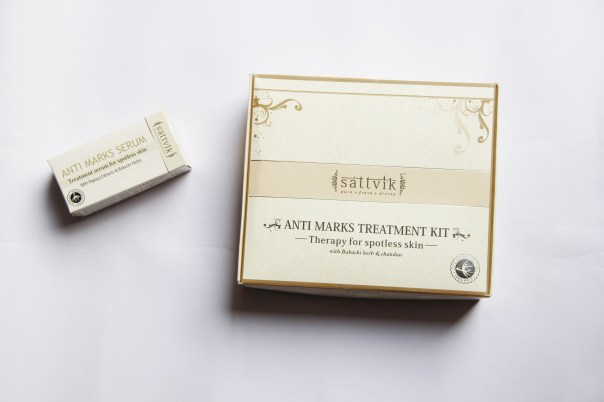 DIY Facial using Sattvik Anti- Blemish Treatment Kit | mitzitup.com