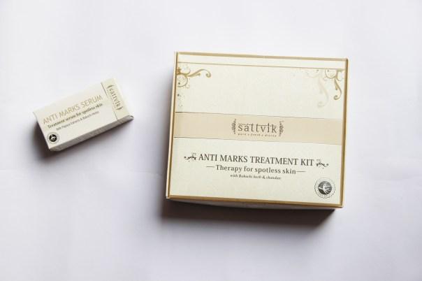DIY Facial using Sattvik Anti- Blemish Treatment Kit   mitzitup.com