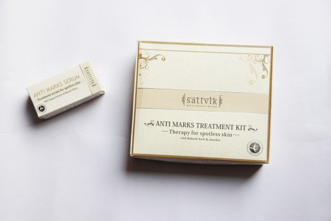 DIY Facial using Sattvik Anti- Blemish Treatment Kit | mitzitup.com