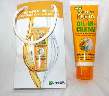 Garnier Oil in Cream for Curly hair | mitzitup.com